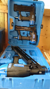 2 Finishing Nailer + Frame Nailer