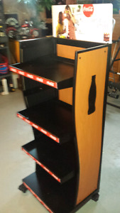 Coca Cola display rack.  In excellent condition.