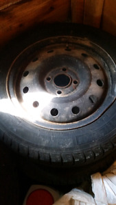 Snow tires for sale w/ 4x100 rims