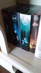 TV series 24 seasons 1-4 on DVD