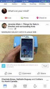 Samsung ace 2 unlock 50$