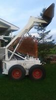 MELROSE SKIDSTEER 610 LOADER FOR SALE