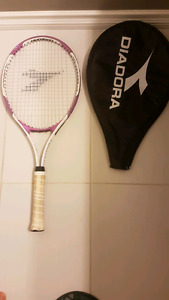 Two Diadora  tennis racquets for sale