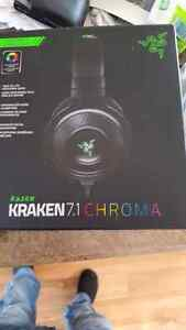 Ecouteur micro Casque de jeu Kraken 7.1 chroma