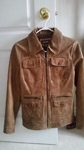 A leather jacket for sale