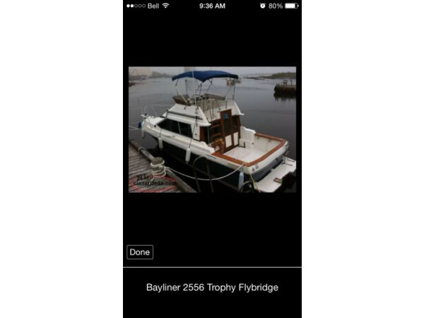 1989 Bayliner trophy