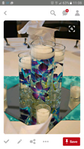 Beautiful vases for centerpieces
