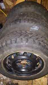 215/60R15 winter tires set of 4 Gatineau Ottawa / Gatineau Area image 2
