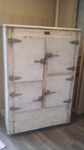 vintage ice box for sale