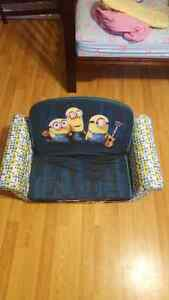 Minion kid couch for sale