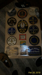 Molson's 200th Anniversary Beer Trays Poster