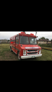 1972 GMC 3500 work van