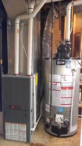 FURNACE REPLACEMENT, AIR CONDITIONING (TRANE)