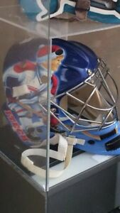 Jeff Hackett Montreal Canadians game goalie mask