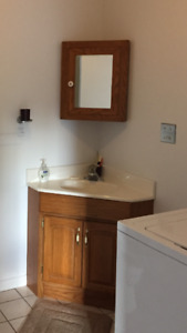 Bathroom vanity for sale and mirror