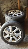 Mazda 3 rims and tires!