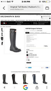Hunter boots-NEW