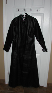 XL BLACK LEATHER STREET FIGHTER (NEO) LONG JACKET