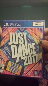 Just dance 2017 ps4 and  Xbox 1