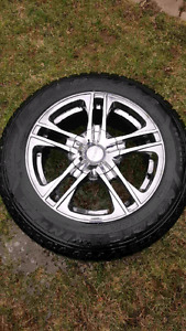 600$for 4 fast wheel with 205 60 16 winter tires