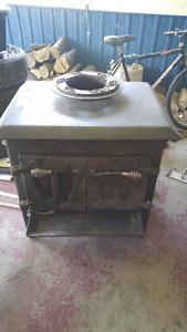 Odette wood stove.