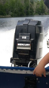 115 HP Mercury Outboard Motor