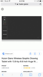 Huion Giano drawing tablet
