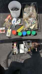 LOT OF NAILS FASTENERS ELECTRICAL $15 OBO