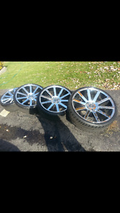 DUB wheels and Rubber $1500 obo