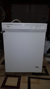 2015 Whirlpool White Dishwasher 24""