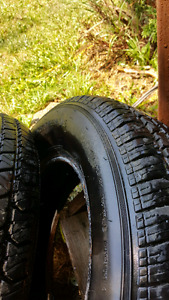 brand new set of Cooper 14in tires 215 70 R 14