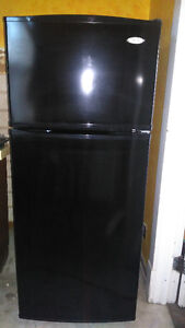 Whirpool Black Fridge