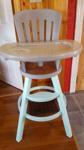 Graco Wooden High Chair