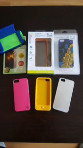 Phone cases and screen protector for iPhone 5/5s