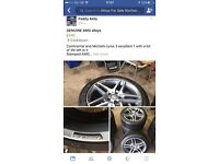 Alloy wheels for sale all genuine 5x112 5x120 5x100