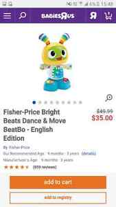 Beats dance and move de fisher price