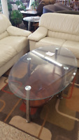 Glass Top Coffee Table and End Tables Winnipeg Manitoba Preview