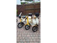 3x Yamaha passola Classic 50cc mopeds