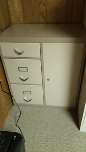 Filing Cabinet with Safe