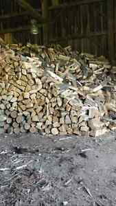 Dried and split Firewood! !  Camping season is here!!