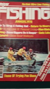 "VINTAGE ""ARGOSY FISHING"" ANNUAL 1978 MAGAZINE"