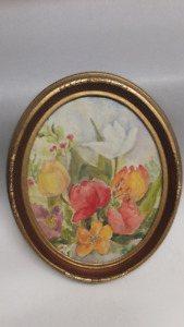Antique Oval Picture Frame Buy New Used Goods Near You Find