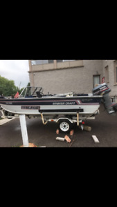 smoker craft boat for sale