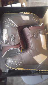 Ladies size 10 snowboard boots