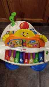 Fisher Price Laugh & Play Baby Grand Piano Strathcona County Edmonton Area image 2