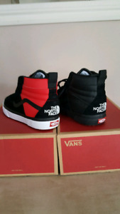 The North Face and Vans