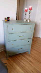 Rustic Tall boy Dresser