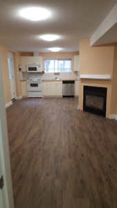 2 bedroom legal ground level basement with private entrance avai