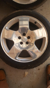 "17"" GENUINE AUDI TT WHEELS ***NEEDS TIRES***"