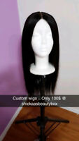 100$ Custom Lace Closure Wig !